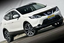 2014 Nissan Qashqai J11 TI White 1 Speed Constant Variable Wagon Ferntree Gully Knox Area Preview