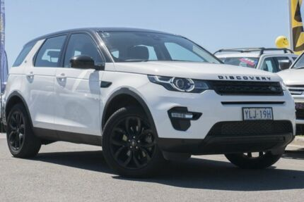 2016 Land Rover Discovery Sport L550 16.5MY SD4 SE Fuji White 9 Speed Sports Automatic Wagon
