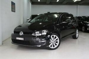 2013 Volkswagen Golf VII 103TSI DSG Highline Black 7 Speed Sports Automatic Dual Clutch Hatchback Castle Hill The Hills District Preview