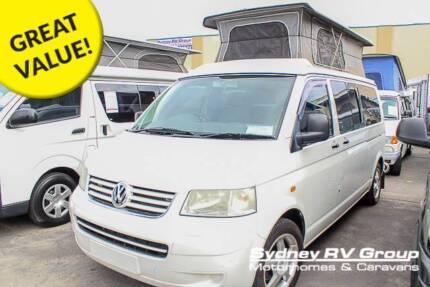 U3266 Volkswagen Frontline 4 Motion Pop Top Campervan!!! Penrith Penrith Area Preview
