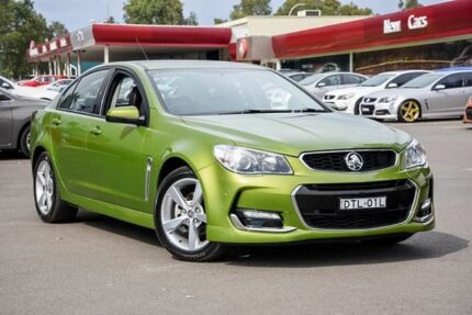 2016 Holden Commodore VF II MY16 SV6 Green 6 Speed Sports Automatic Sedan Penrith Penrith Area Preview