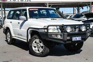 2009 Nissan Patrol GU VI ST (4x4) White 5 Speed Manual Wagon