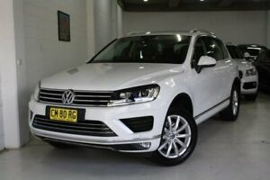 2015 Volkswagen Touareg 7P MY15 V6 TDI Tiptronic 4MOTION White 8 Speed Sports Automatic Wagon Castle Hill The Hills District Preview