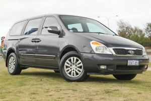 2012 Kia Grand Carnival VQ MY12 S Grey 6 Speed Sports Automatic Wagon Clarkson Wanneroo Area Preview