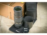 Nikon AF-S 80-400mm f/4.5-5.6 G ED VR