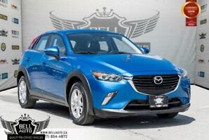 2016 Mazda CX-3 GS, AWD, BACK-UP CAM, SUNROOF, PUSH START, LEATHER