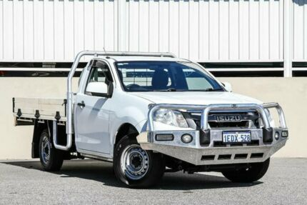 2012 Isuzu D-MAX MY12 SX 4x2 White Manual Cab Chassis Cannington Canning Area Preview
