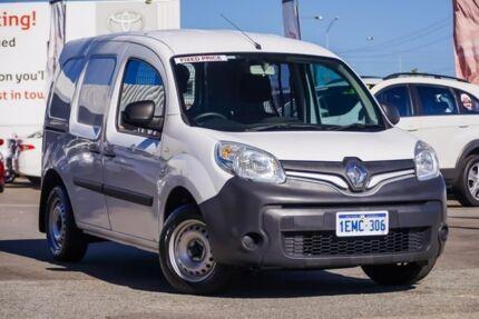 2014 Renault Kangoo F61 Phase II Mineral White 4 Speed Automatic Van