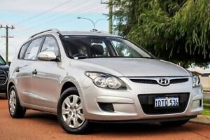 2011 Hyundai i30 FD MY11 SX cw Wagon Silver 4 Speed Automatic Wagon Wangara Wanneroo Area Preview