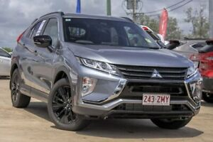 2019 Mitsubishi Eclipse Cross YA MY20 Black Edition 2WD Grey 8 Speed Constant Variable Wagon Gympie Gympie Area Preview