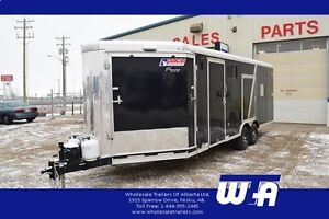 2015 Pace American 8.5 X 27' PACE AMERICAN HEATED SLED TRAILER