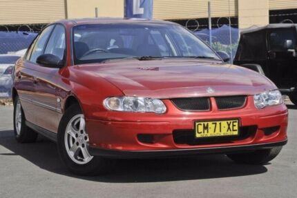 2001 Holden Commodore Red Automatic Sedan