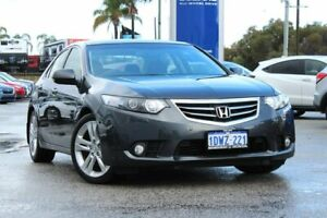 2012 Honda Accord Euro CU MY12 Luxury Grey 5 Speed Automatic Sedan Greenfields Mandurah Area Preview