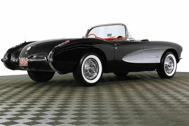 1957 Black Chevrolet Corvette     C1 Corvette Photo 8