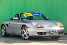 2002 Porsche Boxster 986 Silver 5 Speed Tiptronic Roadster Ringwood East Maroondah Area Preview