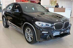 2018 BMW X4 G02 xDrive20d Coupe Steptronic M Sport X Black 8 Speed Automatic Wagon South Melbourne Port Phillip Preview