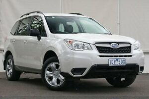 2014 Subaru Forester S4 MY14 2.5i Lineartronic AWD White 6 Speed Constant Variable Wagon Upper Ferntree Gully Knox Area Preview