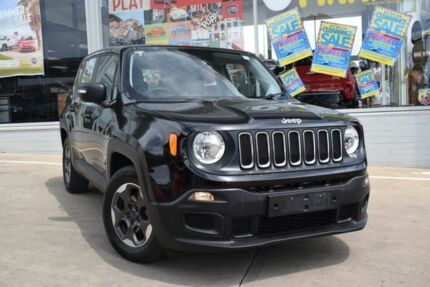2015 Jeep Renegade BU MY15 Sport DDCT Black 6 Speed Sports Automatic Dual Clutch Hatchback