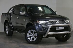 2012 Mitsubishi Triton MN MY12 GLX-R Double Cab Grey 5 Speed Sports Automatic Utility Southbank Melbourne City Preview