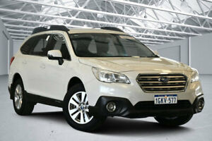 2017 Subaru Outback MY16 2.0D AWD Crystal White Pearl Continuous Variable Wagon Perth Airport Belmont Area Preview