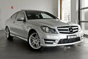 2013 Mercedes-Benz C250 C204 MY13 7G-Tronic + Silver 7 Speed Sports Automatic Coupe Artarmon Willoughby Area Preview