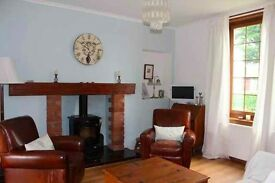 Beautiful, large, furnished 2 bed cottage close to St Andrews and Dundee for short term let