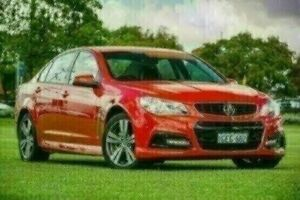 2014 Holden Commodore VF MY14 SV6 Red 6 Speed Sports Automatic Sedan Victoria Park Victoria Park Area Preview