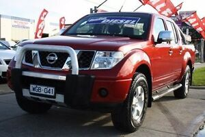 2007 Nissan Navara D40 ST-X Burgundy 6 Speed Manual Utility Altona North Hobsons Bay Area Preview