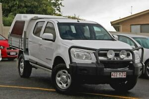 2016 Holden Colorado RG MY17 LS Crew Cab White 6 Speed Manual Cab Chassis Gympie Gympie Area Preview