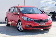 2015 Kia Cerato YD MY15 S Red 6 Speed Manual Hatchback Tweed Heads South Tweed Heads Area Preview
