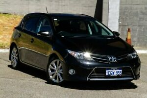 2013 Toyota Corolla ZRE182R Levin S-CVT ZR Black 7 Speed Constant Variable Hatchback Myaree Melville Area Preview