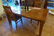 Solid Timber Dining Table and Chairs Palmerston Gungahlin Area Preview