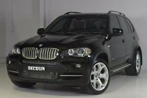 2009 BMW X5 E70 MY10 xDrive35d Steptronic Black 6 Speed Sports Automatic Wagon Wadalba Wyong Area Preview