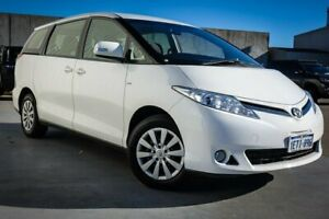 2015 Toyota Tarago ACR50R MY13 GLi White 7 Speed Constant Variable Wagon Canning Vale Canning Area Preview