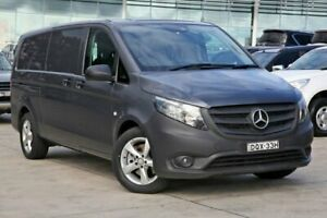 2017 Mercedes-Benz Vito 447 119BlueTEC LWB 7G-Tronic + Grey 7 Speed Sports Automatic Van Castle Hill The Hills District Preview