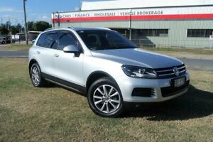 2010 Volkswagen Touareg 7L MY10 V6 TDI 4Xmotion Silver 6 Speed Sports Automatic Wagon Eagle Farm Brisbane North East Preview
