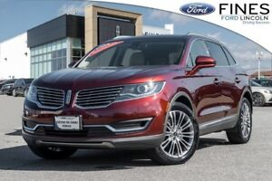 2016 Lincoln MKX Reserve - LOADED, BLIS, NAVI, ROOF, LEATHER!