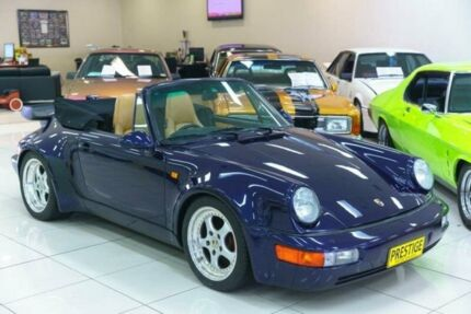 1975 Porsche 911 CARRERA 3.2 Blue 5 SP MANUAL Cabriolet
