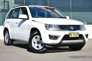 2012 Suzuki Grand Vitara JB MY09 Urban White 4 Speed Automatic Wagon Cardiff Lake Macquarie Area Preview