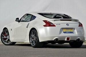 2013 Nissan 370Z Z34 MY13 White 6 Speed Manual Coupe Ferntree Gully Knox Area Preview