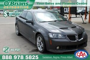 2009 Pontiac G8 Wholesale Unit - No PST!