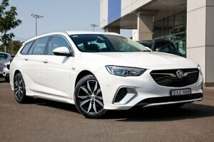 2017 Holden Commodore ZB MY18 RS Sportwagon White 9 Speed Sports Automatic Wagon