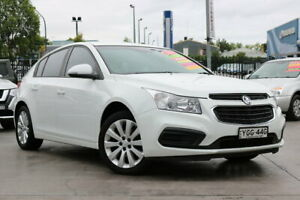 2016 Holden Cruze JH Series II MY16 Equipe White 6 Speed Sports Automatic Hatchback Penrith Penrith Area Preview