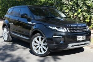 2015 Land Rover Range Rover Evoque L538 MY16 TD4 180 HSE Black 9 Speed Sports Automatic Wagon Parkside Unley Area Preview