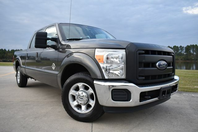 2015 Ford F250SD XL 154446 Miles Gray Pickup Truck 8 Automatic