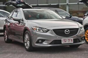 2013 Mazda 6 GJ1031 Sport SKYACTIV-Drive Silver 6 Speed Sports Automatic Wagon Capalaba Brisbane South East Preview