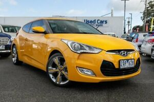 2013 Hyundai Veloster FS2 Coupe D-CT Yellow 6 Speed Sports Automatic Dual Clutch Hatchback Dandenong Greater Dandenong Preview
