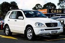 2003 Mercedes-Benz ML270 CDI W163 MY04 Luxury White 5 Speed Sports Automatic Wagon Ringwood East Maroondah Area Preview
