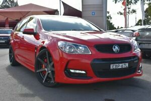 2016 Holden Commodore VF II MY16 SS V Sportwagon Redline Red 6 Speed Sports Automatic Wagon Tuggerah Wyong Area Preview