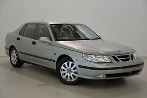 2002 Saab 9-5 MY2002 Linear Green 5 Speed Automatic Sedan Mansfield Brisbane South East Preview